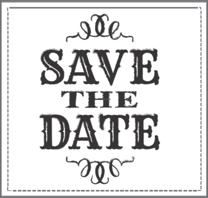 Save the Date Clip Art